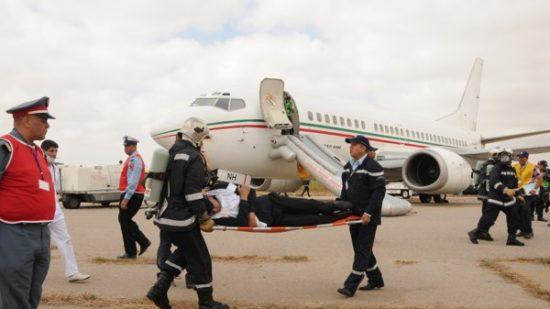 مطار محمد الخامس: رافعة لنقل الأمتعة ترسل شخصا للمستعجلات