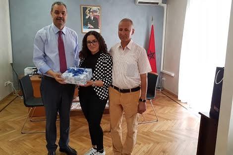 هذه هي المغربية التي تصدرت عناوين الصحافة الايطالية بعد حصولها حصل على المرتبة الاولى في الباك بايطاليا