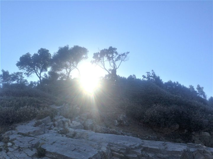 Apus de soare în Limnionas