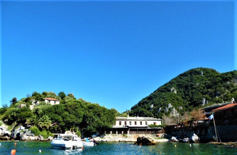 Damouhari-Pelion-Grecia văzută pe croazieră în Pelion