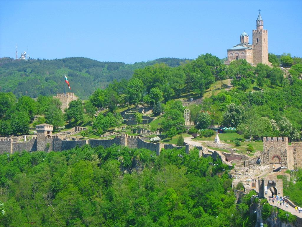 Cetatea Tsareveț Veliko Tarnovo Bulgaria