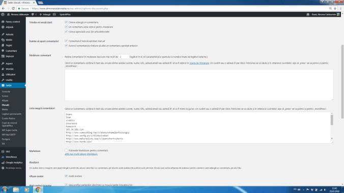 spam pe blog