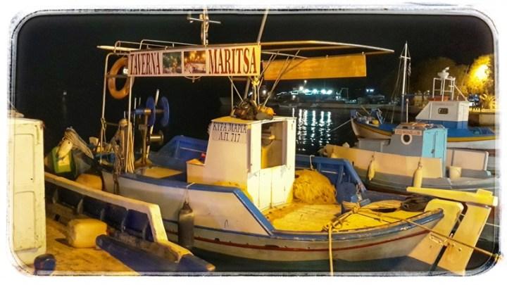 barcă pescărească Pythagorio Samos