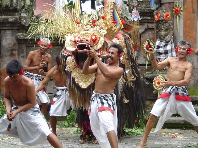 dans tradițional masculin Bali