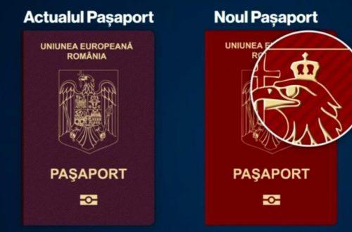 pașaportul românesc