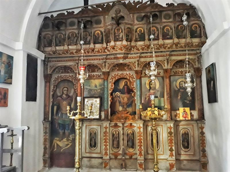 Mănăstirea Mounte Ikaria altar