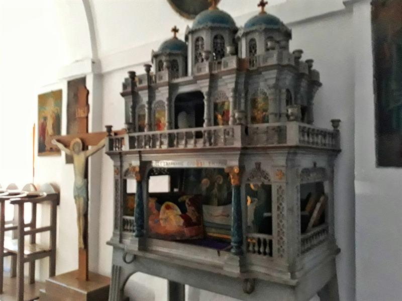 Mănăstirea Mounte epitaf