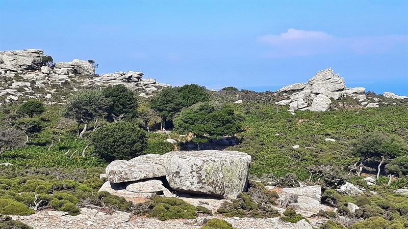 Platoul Erifi insula Ikaria