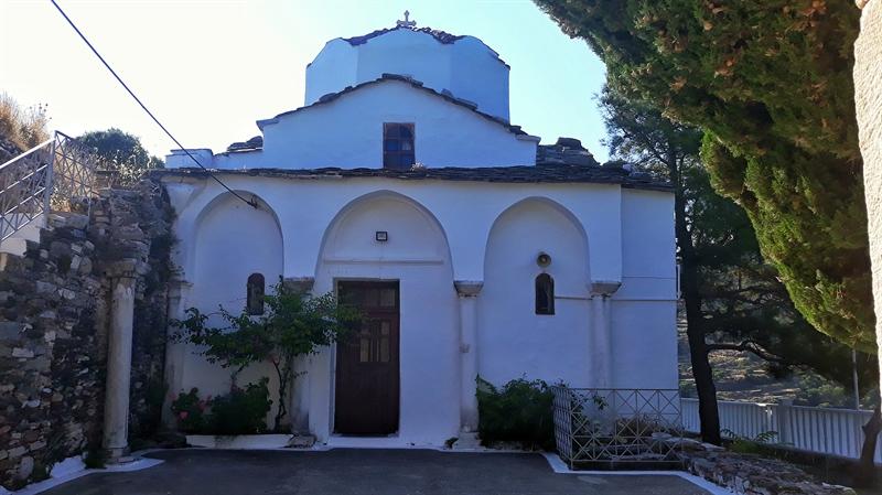 Biserica Agia Eirini Kampos Ikaria