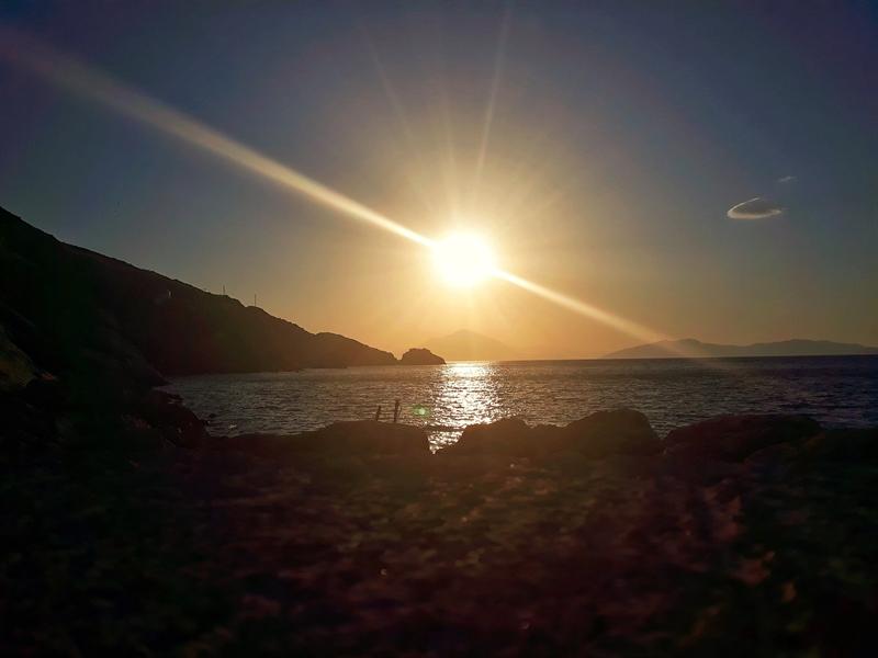 rasarit de soare vacaanță în Ikaria