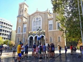 Catedrala Mitropolitană vizită gratis în Atena