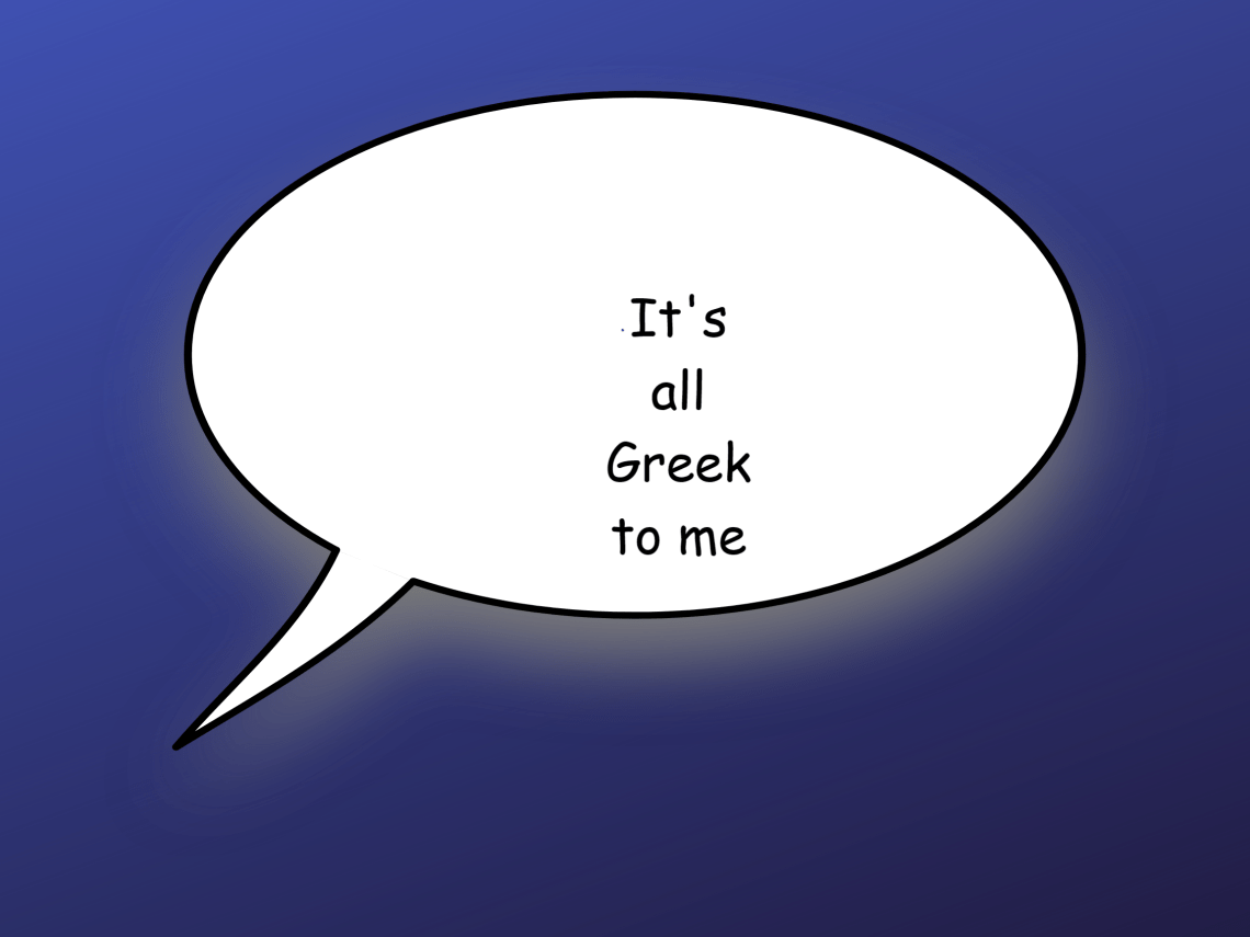 expresii grecești amuzante