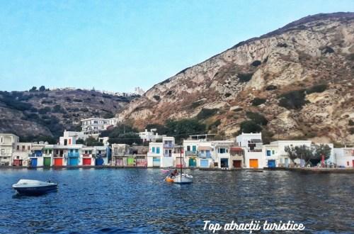 atracții turistice insula milos