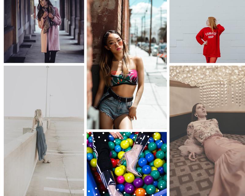 colaj foto modă outlet
