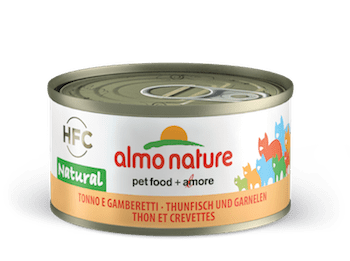 HFC Natural Tuna and shrimps