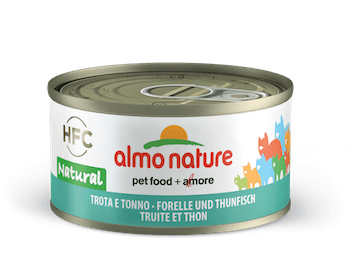 HFC Natural Trout and tuna