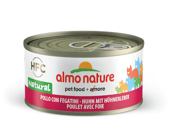 HFC Natural Pollo con fegatini