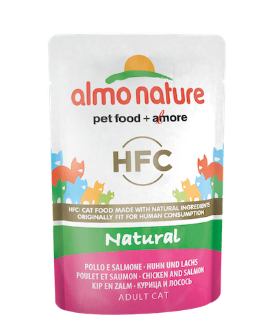 HFC Natural Poulet et saumon