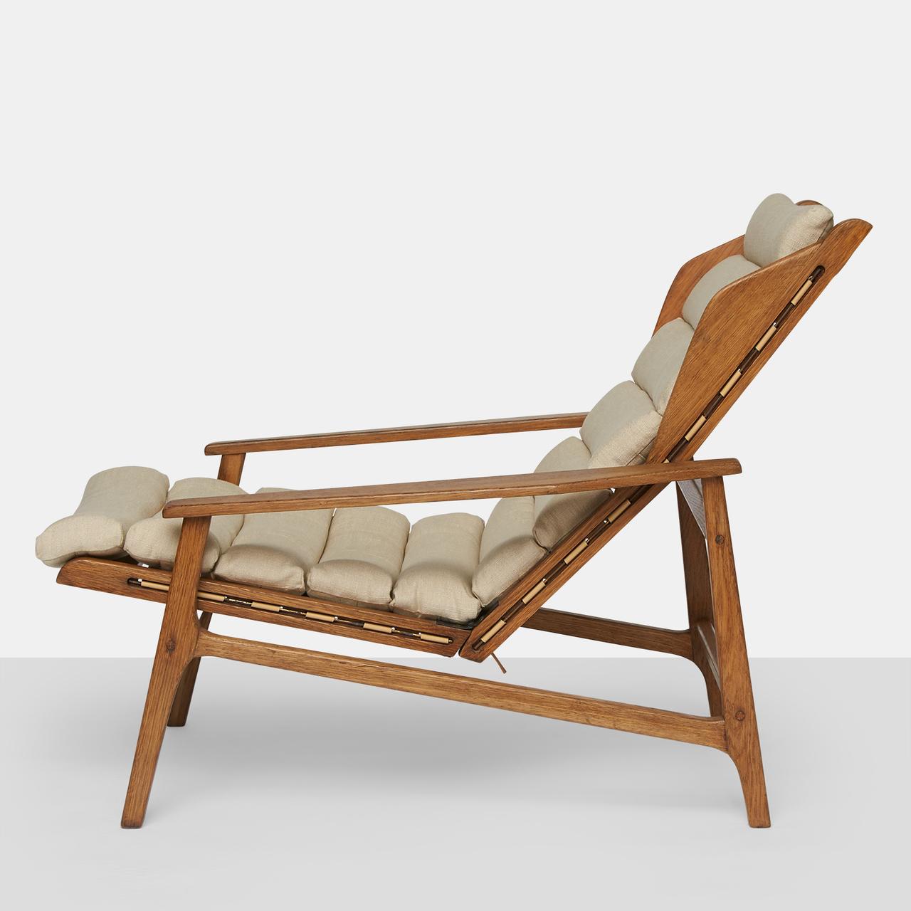 Gio Ponti Reclining Lounge Chairs  Almond and Company