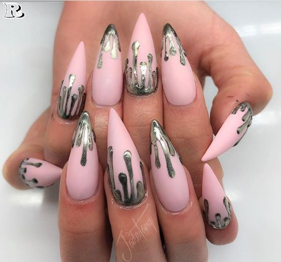 Almond Nail Design - 30 Of The Hottest & Must Have Almond Nail Designs Of 2018