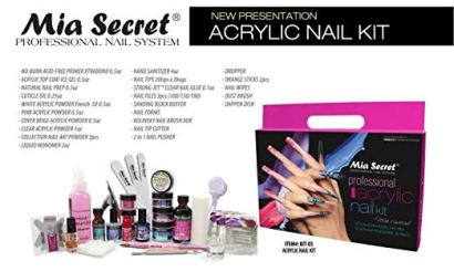 Best Acrylic Nail Kits 2019 [Buyer\'s Guide & Review]