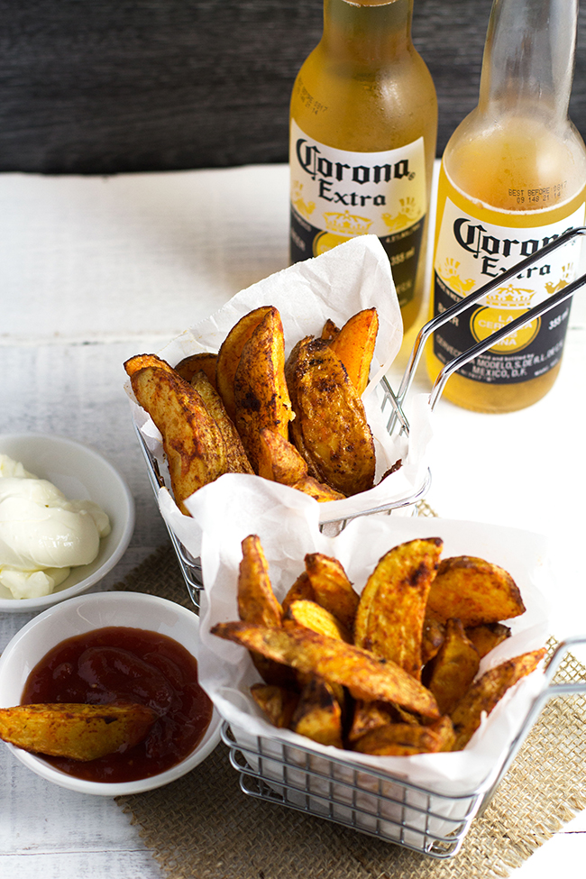 Homemade Spicy Wedges