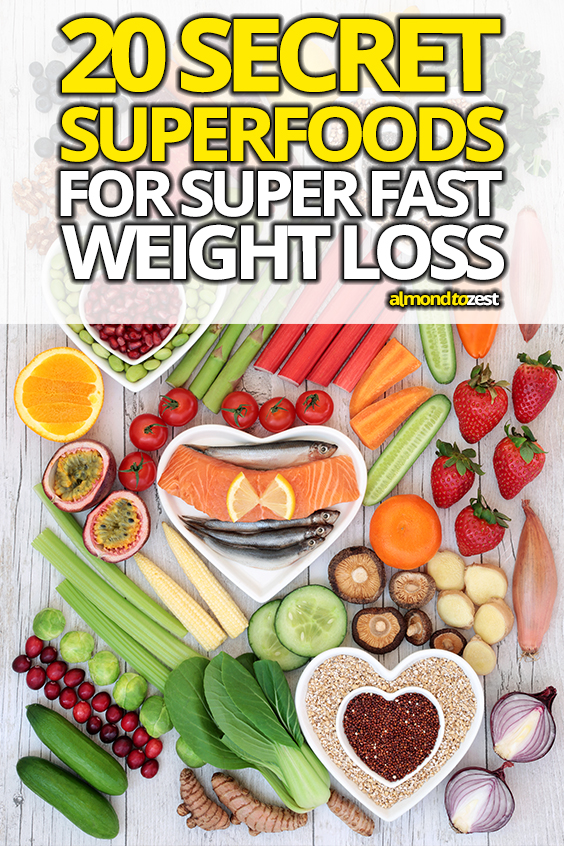 Want to activate EXTREME weight loss with these incredible superfoods? Naturally boost your metabolism, slim down and improve your health by adding these secret foods to your diet! #superfood #healthyeats #healthysnacks