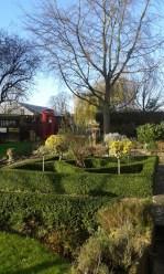 A beautiful garden even in winter