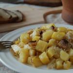 Potatoes, Bacon, and Sauerkraut – Strapacky