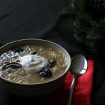 Vianočná kapustnica: Slovak Christmas Sauerkraut Soup (vegetarian version)