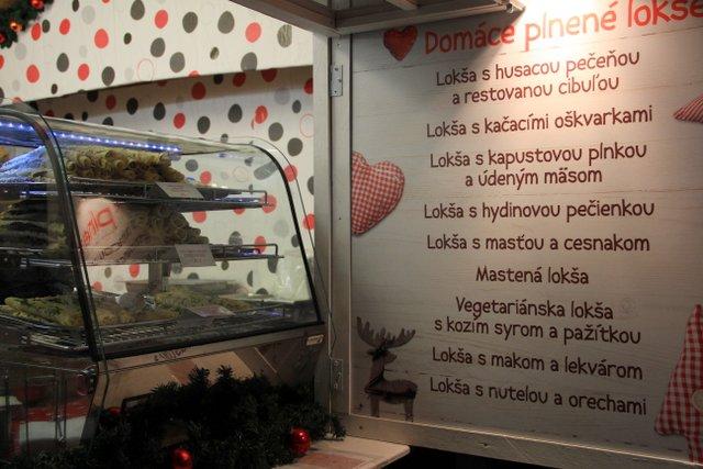 Christmas Market in Bratislava, Slovakia