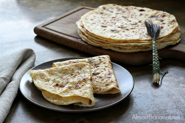 Lokše: Slovak Potato Flatbread (regular and gluten-free)
