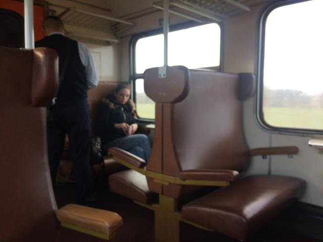 Train ride in Slovakia - Almost Bananas blog