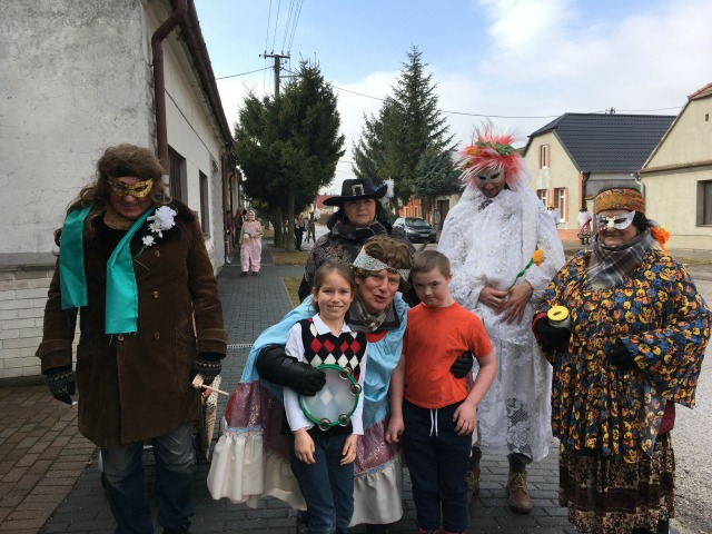 Fasiangy in Slovakia - Almost Bananas blog