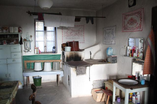 inside of a chata, Slovakia