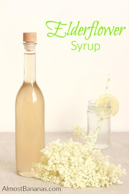 Elderflowers make a delightful floral syrup