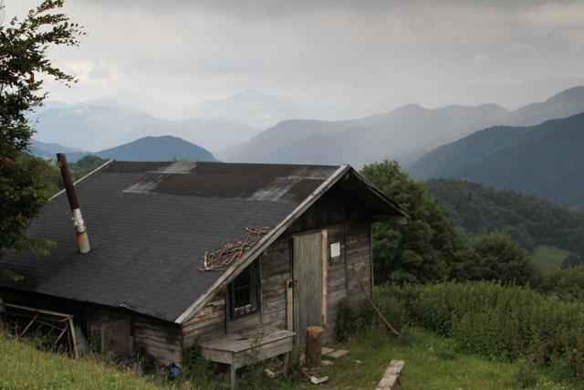 Hiker's shelter in the Velka Fatra