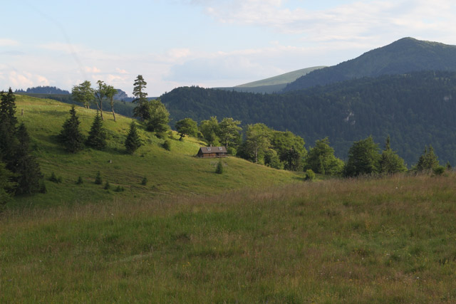 Meadows around Chata pod Borisovom