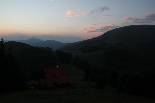 Dawn at Chata pod Borisovom