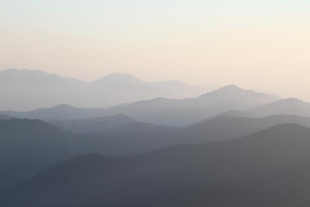 Mala Fatra mountains in Slovakia