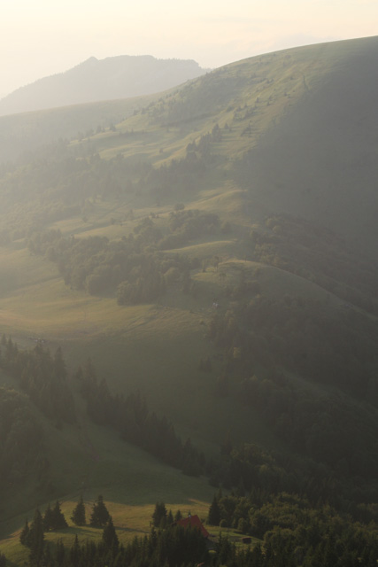 Beautiful morning light in Slovakia