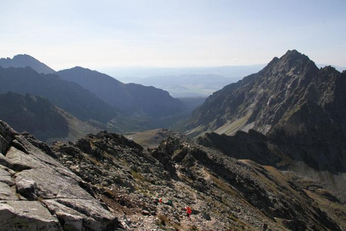 Ridge to Korpovsky stit
