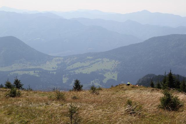 Meadow where we had lunch up Veľký Choč, Slovakia