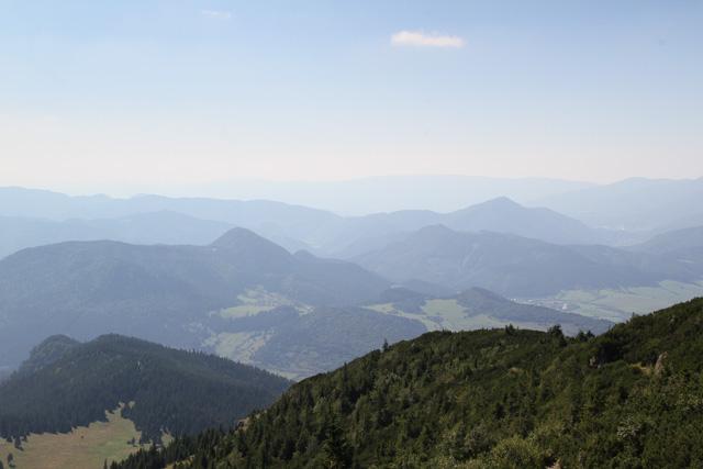 More view from Veľký Choč, Slovakia