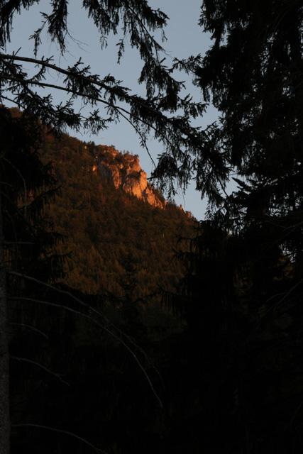 Sunrise on the Choc vrchy, Slovakia