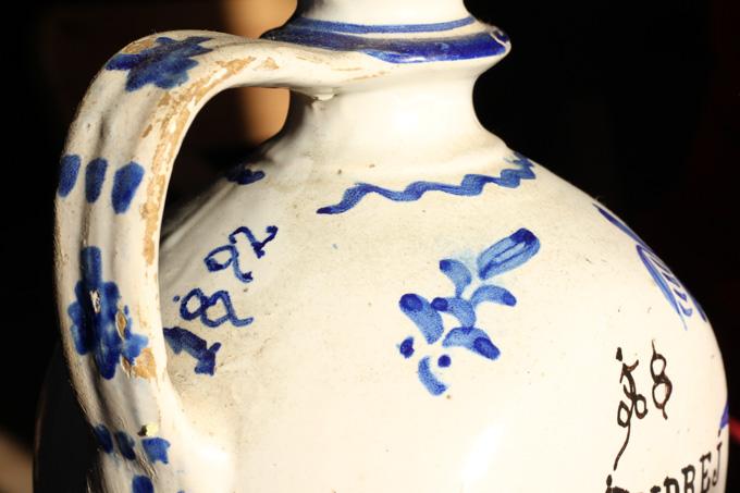 An old Slovak water jug