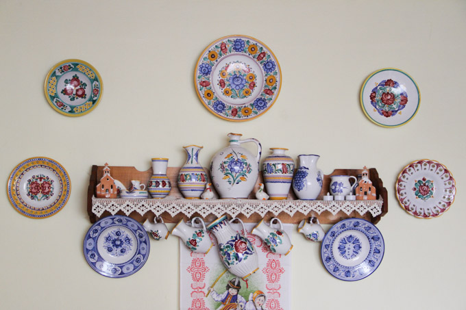 Traditional Slovak pottery