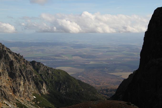 View down Mala Studena dolina in the High Tatras of Slovakia
