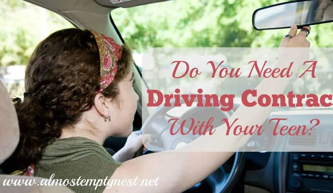 Do You Need a Driving Contract with your Teen?