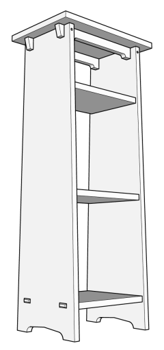 Book Stand - Plate 18